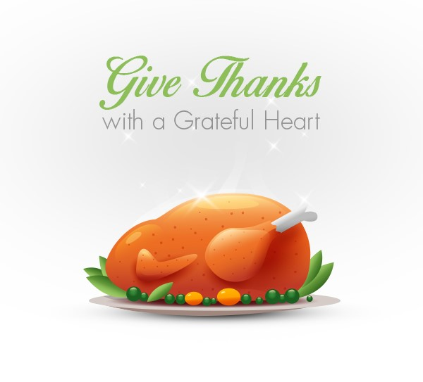 Have a great Thanksgiving with your family and friends!